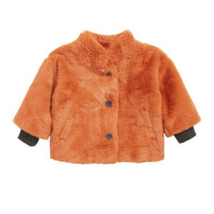 STEM  Fur Jacket coat girl kids